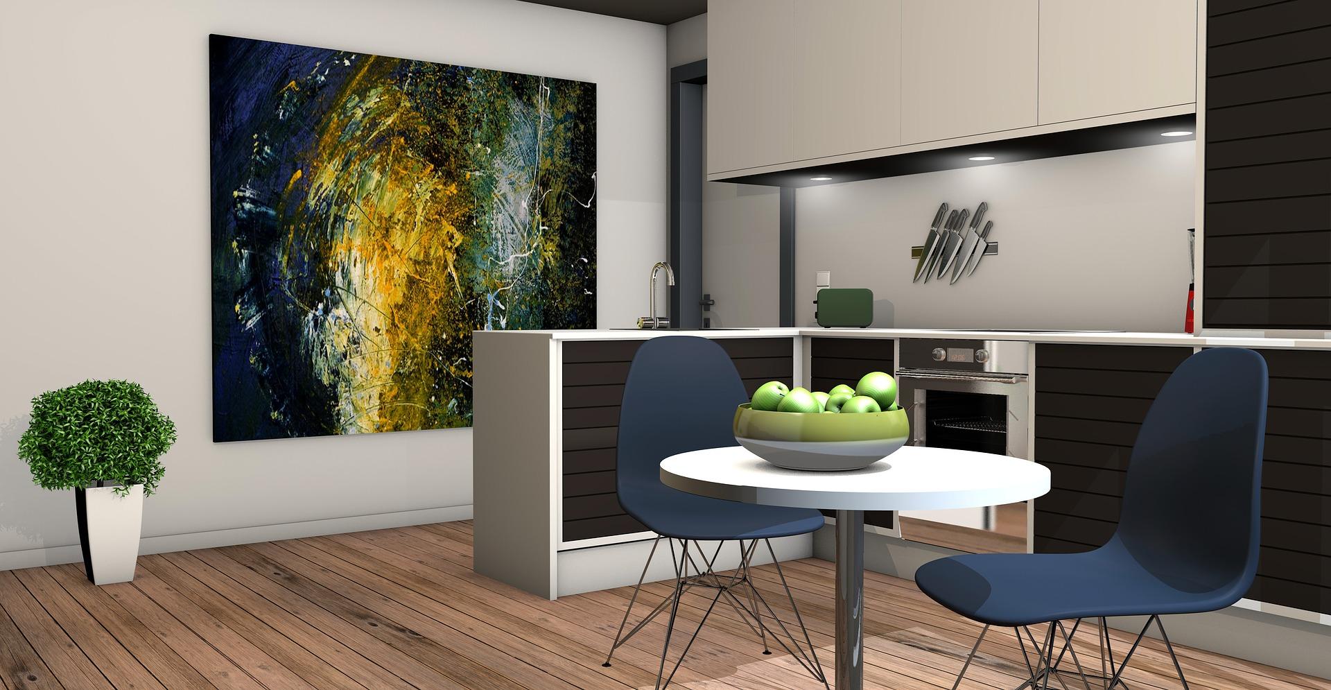 Francouzský styl v interiéru bytu
