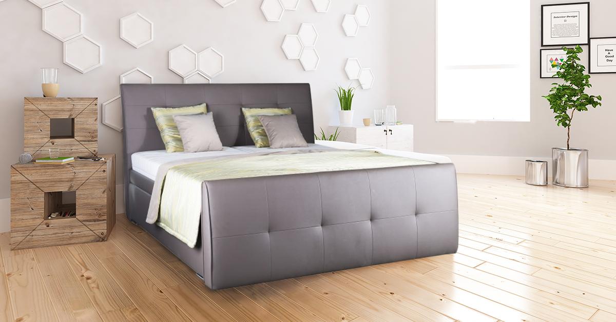 Dřevěnou nebo čalouněnou postel? Podívejte se na jejich výhody a nevýhody